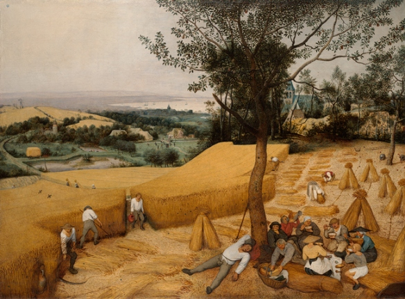 "Pieter Bruegel the Younger:  ""The Harvesters"""